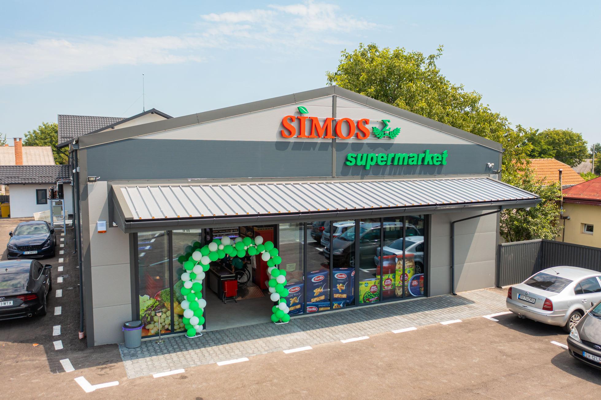 Magazin SIMOS Supermarket Cornu Luncii